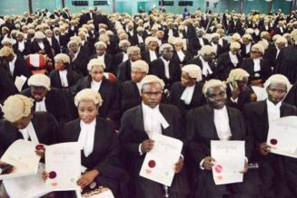 1,785 new lawyers called into Nigerian Bar