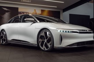 2021 Lucid Air Dream Edition Stickers for a Whopping $169,000