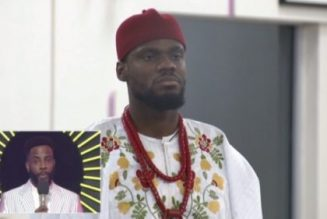 BBNaija: Prince evicted from Big Brother Naija Lockdown