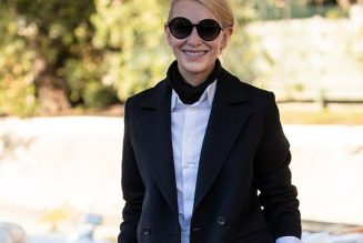 Cate Blanchett Just Stepped Out in the Perfect Tailored Autumn Outfit