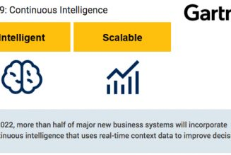 Continuous Intelligence: The Newest Trend in Data Analysis