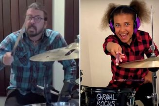 Dave Grohl Writes Theme Song for 10-Year-Old Drummer Nandi Bushell: Watch