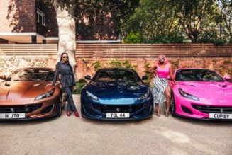 Femi Odetola buys 3 Ferrari Portofino for his daughters DJ Cuppy, Temi and Tolani