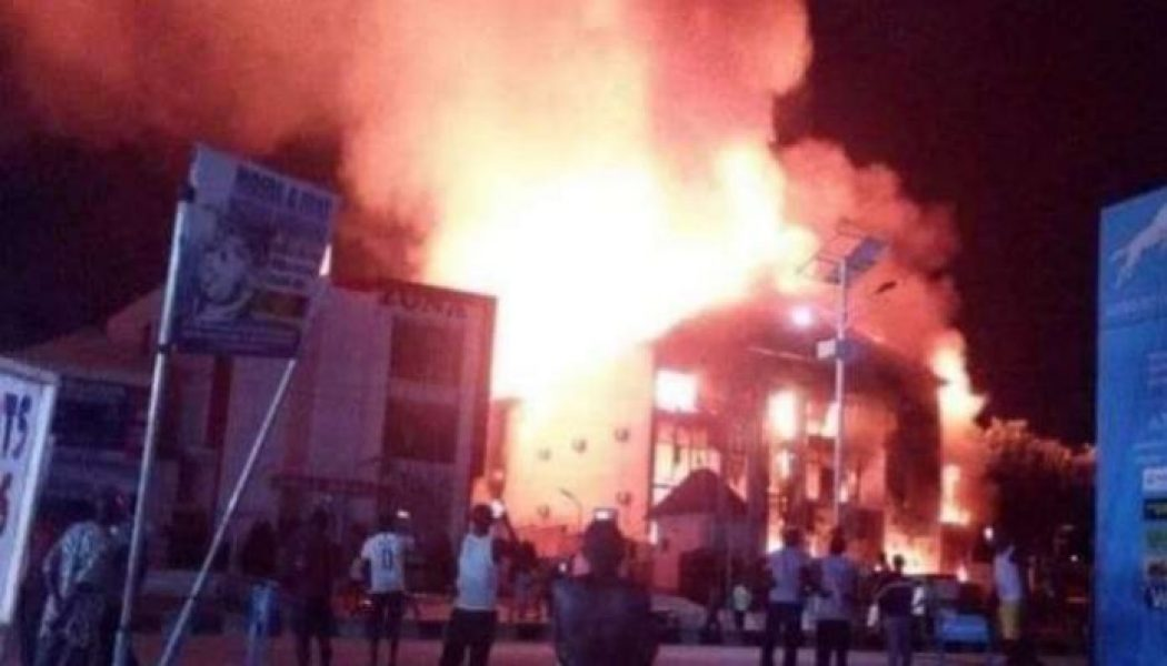 Fire razes electrical complex in Lokoja