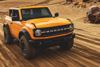 """Ford Teases Its Extra Off-Road-Ready Bronco """"Warthog"""""""