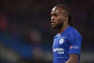 Frank Lampard casts doubt over Victor Moses future at Chelsea