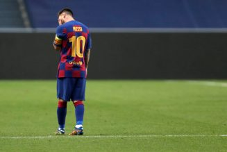 Gary Lineker reacts to Lionel Messi's Barcelona decision