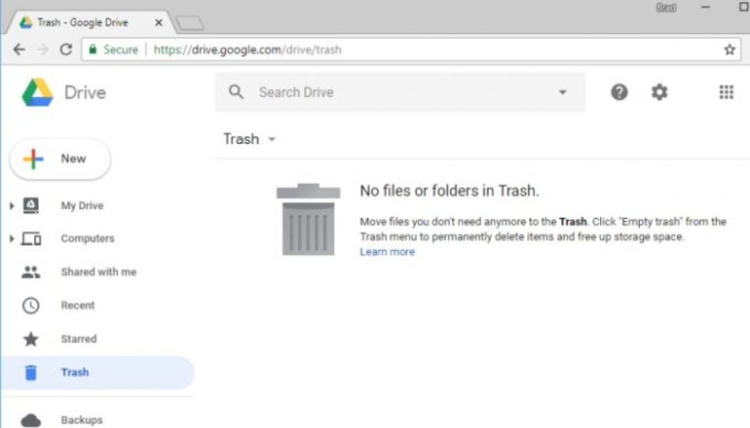 Google Drive to Automatically Delete Trashed Files