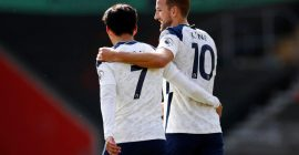 Harry Kane sends message to Son following Spurs' victory at St. Mary's