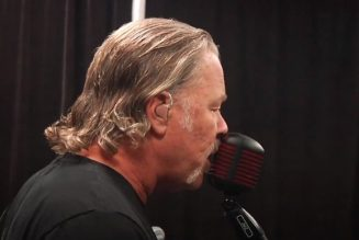 Here Is Video Of METALLICA's Pre-Show Tuning-Room Jam For 'S&M2' Concerts
