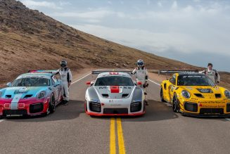 In Photos: Porsche Races to the Clouds and the Podium at Pikes Peak 2020