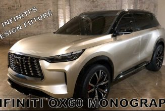 Infiniti QX60 Monograph Concept First Look: Designed for the Future