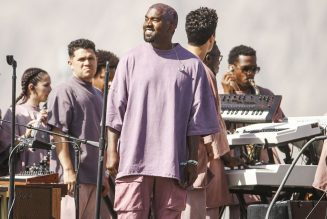 Kanye West's Choir Walks on Water at Sunday Service in Atlanta