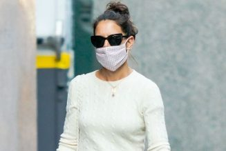 Katie Holmes Has Convinced Us to Try This Autumn Footwear Trend