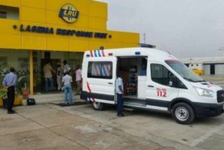 LASEMA: Two died, six injured in a four vehicles accident