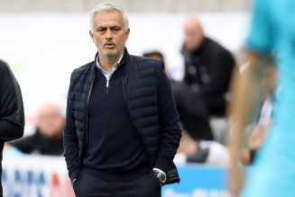 Mourinho's five-word reaction on Instagram after Spurs' win over Southampton