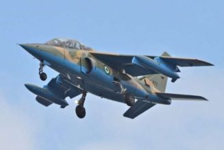 NAF jet bombards bandits meeting venue in Kaduna
