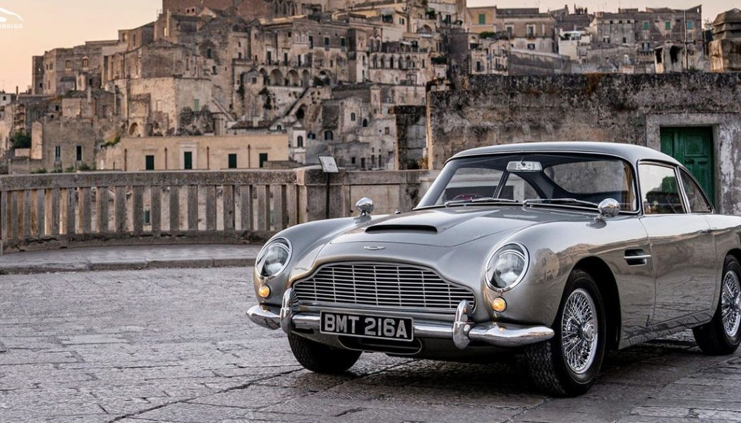 """New """"No Time to Die"""" Trailer Shows off Bond's Bullet-Riddled DB5"""