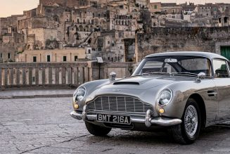 "New ""No Time to Die"" Trailer Shows off Bond's Bullet-Riddled DB5"