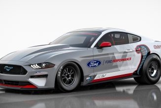 Oops, the Electric Ford Mustang Cobra Jet Dragster Makes 1,502 Wheel HP, Not 1,400