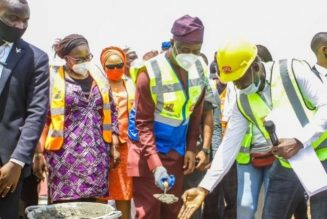 Oyo governor flags off construction of 360 housing units, Ajoda new town estate