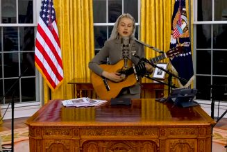 Phoebe Bridgers Takes Tiny Desk to the Oval Office