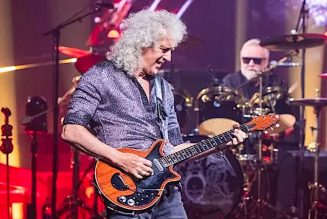 "Queen's Brian May Reveals He Nearly Died From ""Stomach Explosion"""