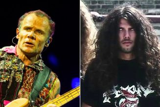 """Red Hot Chili Peppers' Flea Discovers Cannibal Corpse, Declares Them """"F**king Insane"""""""