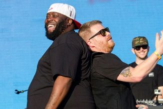 Run the Jewels Performing RTJ4 in Full for Adult Swim Voter Registration Concert