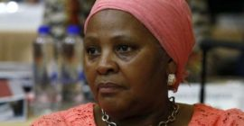South Africa minister reprimanded for party's trip on airforce jet