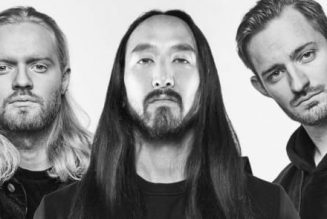 "Steve Aoki and KREAM Drop Stunning Visuals for House Single ""L I E S"""