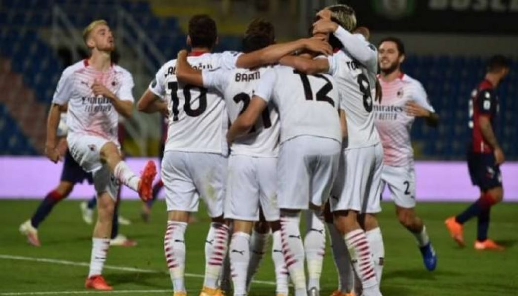 Super Eagles forward Struggles as AC Milan beat Crotone away