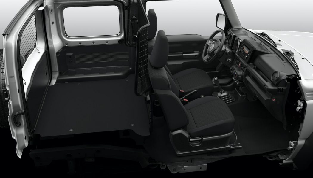 Suzuki Jimny You Want Now Available in Two-Seat Cargo Guise You'll Also Want