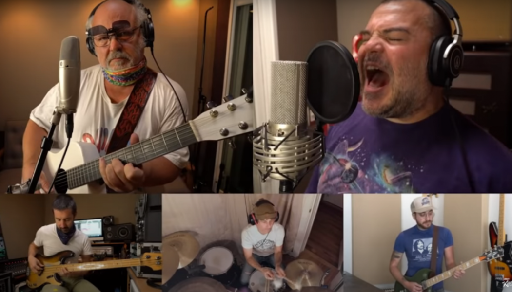 Tenacious D's Jack Black and Kyle Gass Rock Out on Jimmy Kimmel Live!