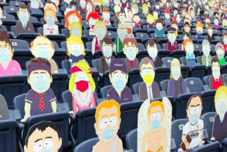 The Entire Town of South Park Sat in the Stands for Today's Denver Broncos Game