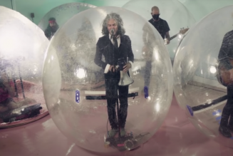 The Flaming Lips Perform 'God and the Policeman' From Their Trademark Space Bubbles For Fallon