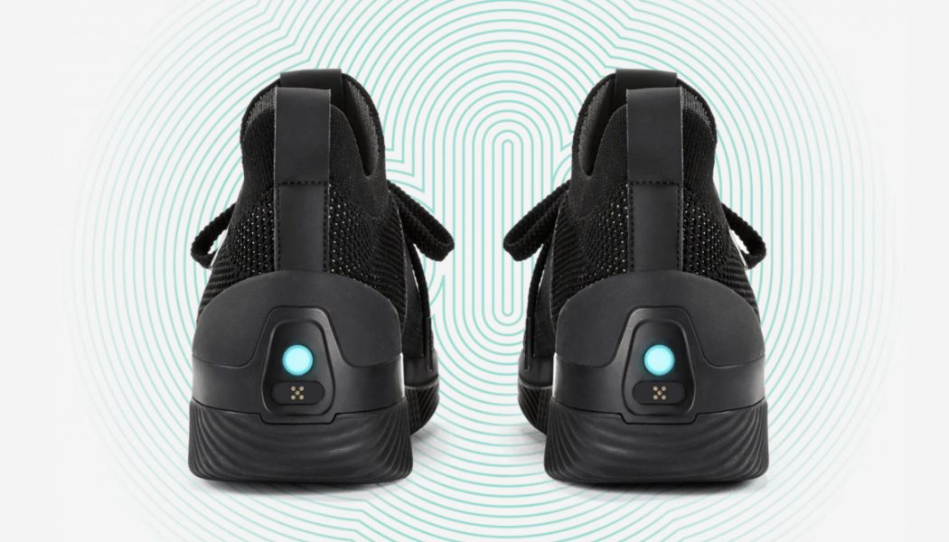 These Bluetooth-Enabled Shoes Transform Your Music Into Bone-Rattling Bass Under Your Feet