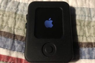 This suspected Apple Watch prototype is disguised as a tiny iPod