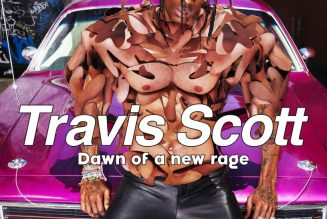 Travis Scott & Dave LaChapelle Team For 'The Face' Cover