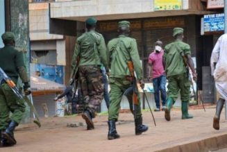 Ugandan military searching for over 200 escaped prisoners