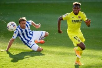 Villarreal boss applauds Samuel Chukwueze's performance vs Real Sociedad