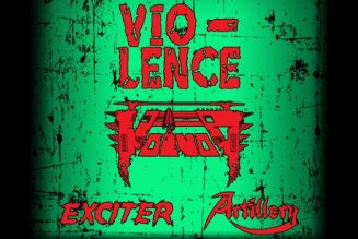 VIO-LENCE, VOIVOD, EXCITER And ARTILLERY To Join Forces For Fall 2021 European Tour