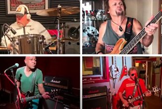 Watch SAMMY HAGAR & THE CIRCLE Cover 'Sympathy For The Human' As Part Of 'Lockdown Sessions'
