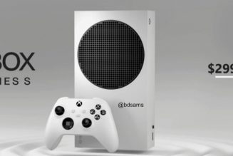 Xbox Series S leaks with $299 price