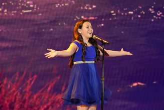 Youngster Roberta Battaglia Belts Out Pink Cover on 'AGT': Watch