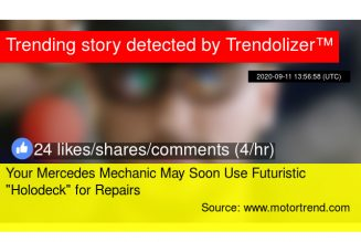 """Your Mercedes Mechanic Could Use Futuristic """"Holodeck"""" for Repairs Soon"""