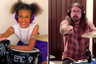 10-Year-Old Music Prodigy Nandi Bushell Wrote Dave Grohl a Theme Song: Watch