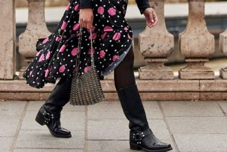 12 Fresh Ways to Wear Your Dresses With Boots This Autumn