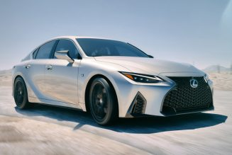 2021 Lexus IS 350 RWD F Sport First Drive: How New Is New?