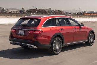 2021 Mercedes-Benz E 450 All-Terrain Wagon Review: Really An SUV at Heart?